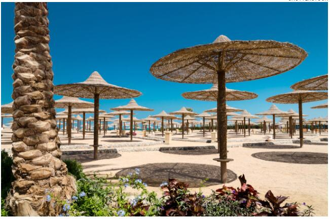 Egyptian beach resorts