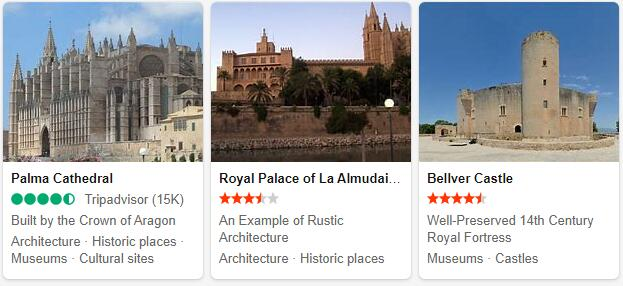 Palma Attractions