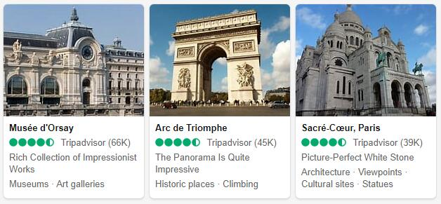 Paris Attractions 2