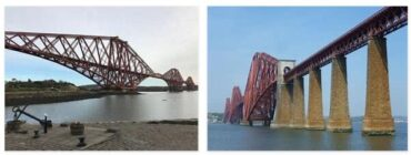 Forth Bridge in Queensferry