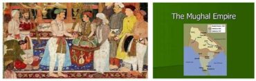 India History - From The Muslim Invasions to The End of The Mughal Dynasty