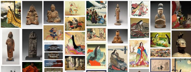Japan Arts during The Heian Period